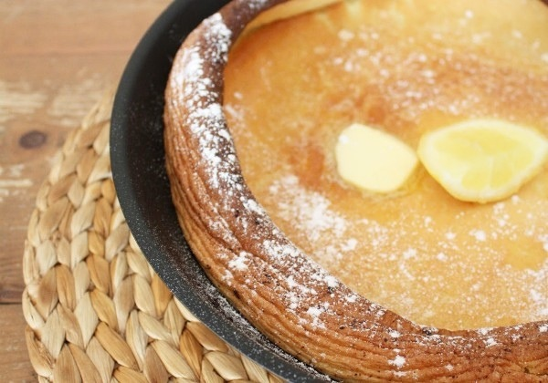 Citrus Lavender Dutch Baby with Almond   The Hungry Belgian